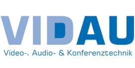 VIDAU – Video, Audio- & Konferenztechnik Logo